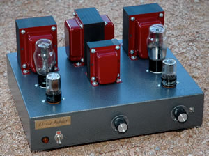 45 Silver Stereo Amplifier