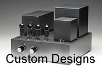 Custom component and tube amp circuit design